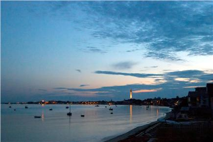Provincetown Cape Cod vacation rental - View of sunset from the house
