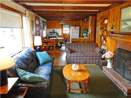 Dennis Cape Cod vacation rental - Living room, facing kitchen