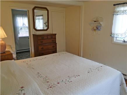 Dennis Cape Cod vacation rental - Large king master bedroom with private bathroom