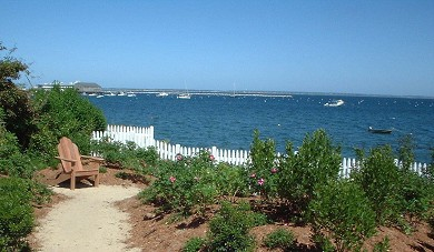 Provincetown Cape Cod vacation rental - Views of the sumptous waterside garden