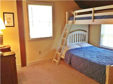 Dennis Cape Cod vacation rental - 2nd floor bedroom with bunk (twin and full)