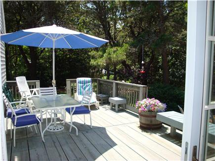 Eastham Cape Cod vacation rental - Sunny decks are perfect for dining and relaxing