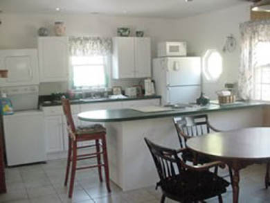 Eastham Cape Cod vacation rental - Kitchen-open concept to dining room/living room
