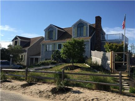 North Eastham Cape Cod vacation rental - Front of House - New Steps from pool area for beach access