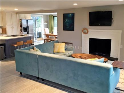 North Eastham Cape Cod vacation rental - Open Living Room / Kitchen / Dining Room