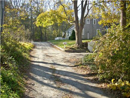 Yarmouthport historic 6A Cape Cod vacation rental - Minden Lane (gravel lane leading to 3 houses)
