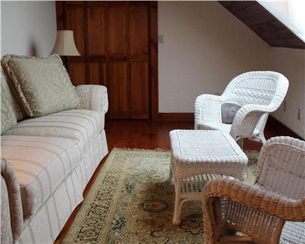 Brewster Cape Cod vacation rental - Queen bedroom private sitting room with skylight