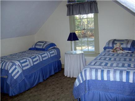 Brewster Cape Cod vacation rental - Upstairs twin bedroom - huge room with futon for extra guests