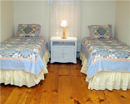 Brewster Cape Cod vacation rental - Lower level twin bedroom - perfect for teens
