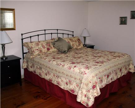 Brewster Cape Cod vacation rental - First floor king bedroom with large closet