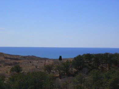 Truro Cape Cod vacation rental - View from the upper deck