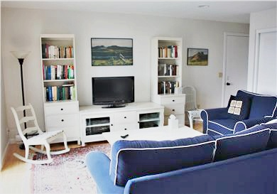 Truro Cape Cod vacation rental - Family Room