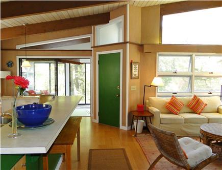 Wellfleet Cape Cod vacation rental - Vaulted ceiling, hardwood floors, many windows