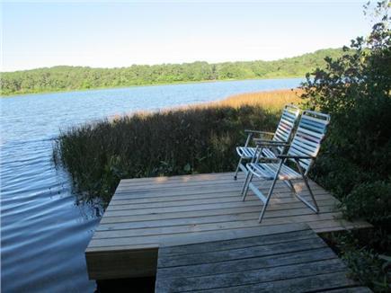 Wellfleet Cape Cod vacation rental - Private dock on Higgins Pond - swim, fish, boat