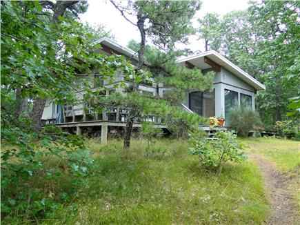 Wellfleet Cape Cod vacation rental - Contemporary home with vaulted ceilings, lots of light