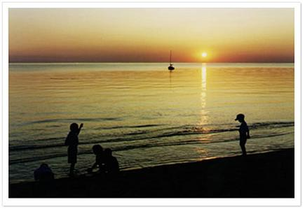 Eastham Cape Cod vacation rental - Sunset, Cape Cod Bay