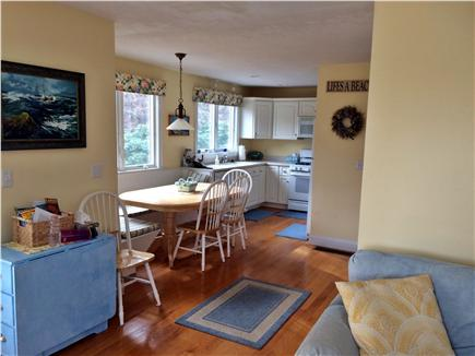 Eastham Cape Cod vacation rental - Dining area/kitchen