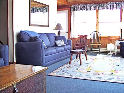 Chatham Cape Cod vacation rental - Family room - views of ocean from side windows