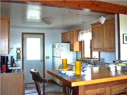 Chatham Cape Cod vacation rental - Kitchen and breakfast area - door leads to deck