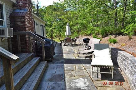 South Chatham - close to Ridge Cape Cod vacation rental - Rear view of home with patio