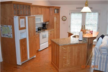South Chatham - close to Ridge Cape Cod vacation rental - Kitchen with new Granite Counter tops