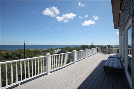 South Wellfleet Cape Cod vacation rental - Panoramic water views from decks&access to beach