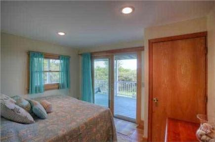 South Wellfleet Cape Cod vacation rental - Bedroom with twin beds and oceanviews