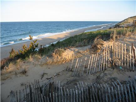 South Wellfleet Cape Cod vacation rental - Private dune access to Lecount Hollow Beach