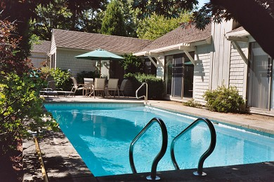 New Seabury, Mashpee New Seabury vacation rental - We like a dip in the pool after a day at the beach
