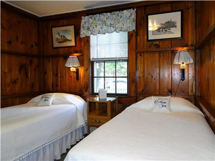 Harwich Port at Bank St. Beach Cape Cod vacation rental - Twin bedroom with water views
