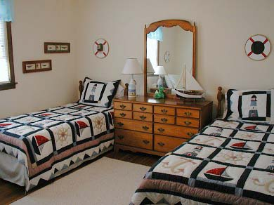West Yarmouth Cape Cod vacation rental - One of the bedrooms , they all have ceiling fans.