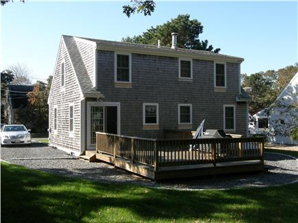 East Falmouth Cape Cod vacation rental - Large deck, great for dining, grilling, relaxing