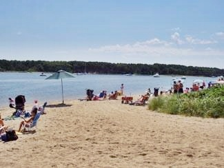 East Falmouth Cape Cod vacation rental - Our neighborhood association beach - great for families