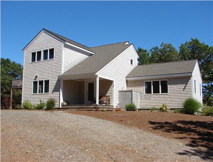 Wellfleet, Indian Neck Cape Cod vacation rental - Set high with water views - this home offers a special retreat