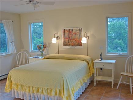 Wellfleet, Indian Neck Cape Cod vacation rental - Large sunny Master bedroom with private bath