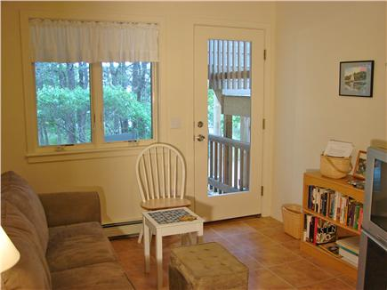 Wellfleet, Indian Neck Cape Cod vacation rental - TV and lounge area