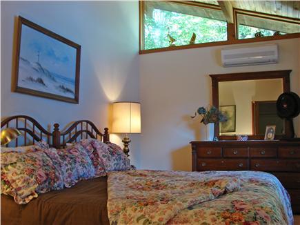 Wellfleet Cape Cod vacation rental - Main floor King bedroom with TV