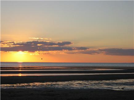 North Eastham Cape Cod vacation rental - Sunset at Thumpertown Beach