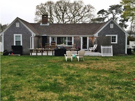 Harwichport Cape Cod vacation rental - Backyard and deck