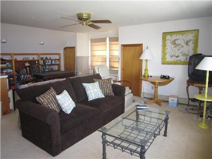 Brewster Cape Cod vacation rental - Upstairs TV Room