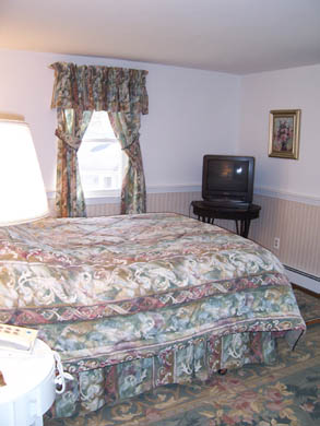 South Yarmouth Cape Cod vacation rental - Queen size bed in room with water view