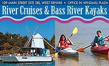 Bass River Kayaks, Cruises & Paddle Boards