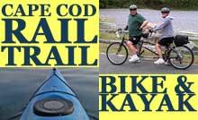 Cape Cod Rail Trail Bike & Kayak