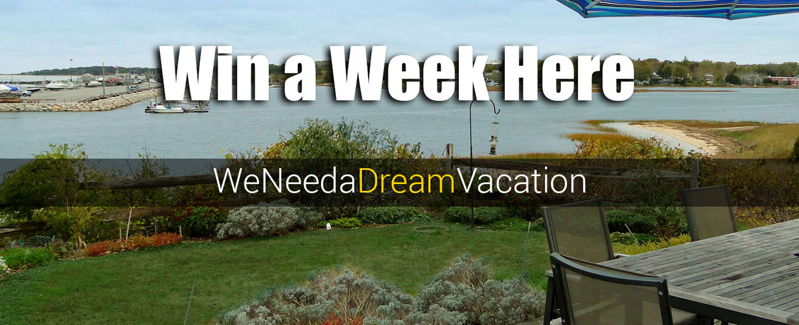 Want to take a vacation in Wellfleet on us?