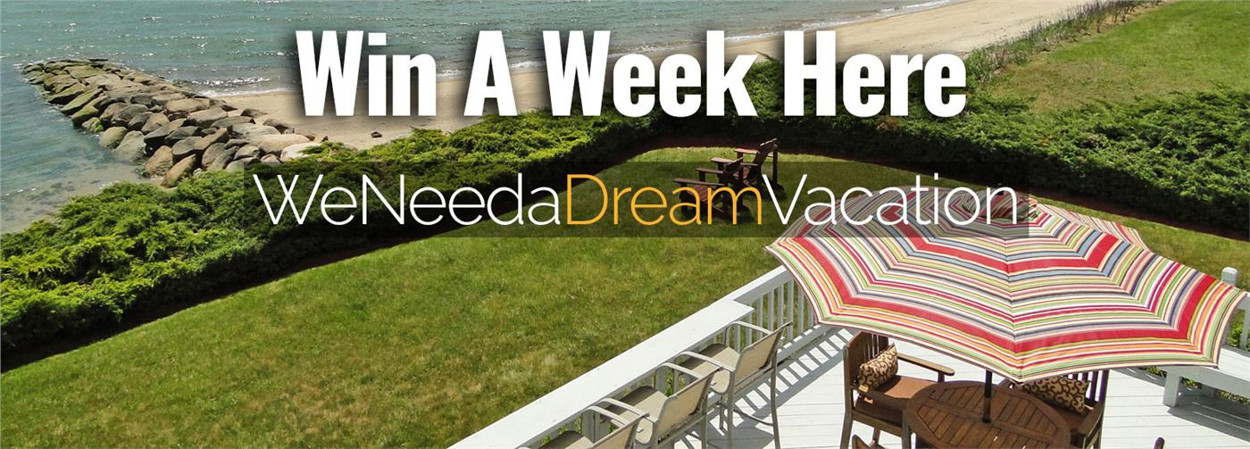 How would you like to spend a week in a gorgeous home overlooking a private beach on Cape Cod? It could be as easy as entering your name!