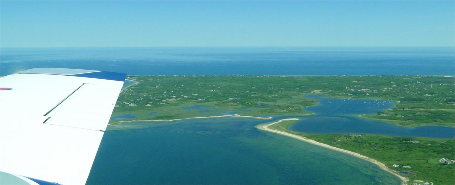 Every once in awhile I am fortunate to fly to Nantucket for work. Usually I take the ferry, which I love, but flying is a real time-saver. Better yet, the experience is something else - gorgeous.