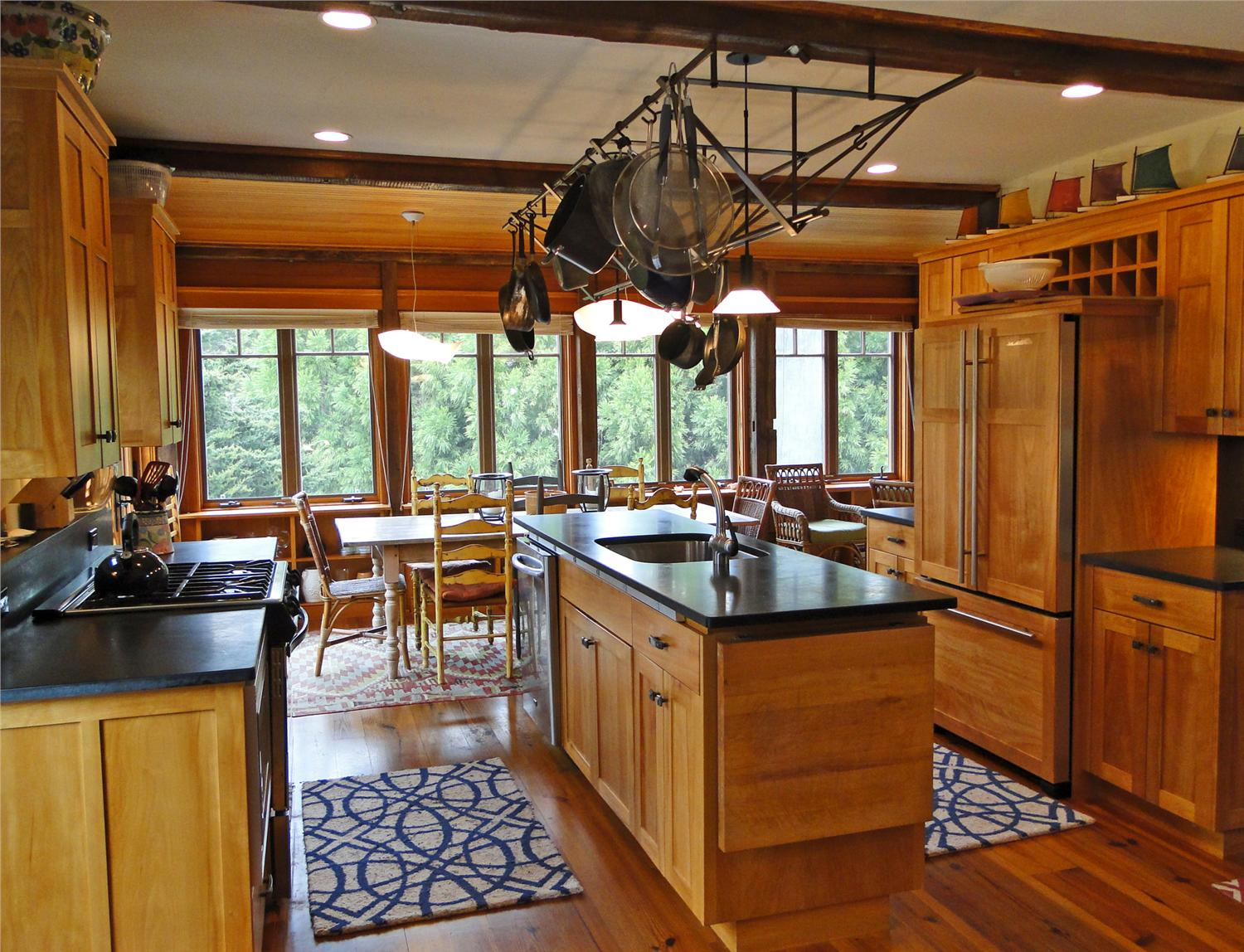 Top Kitchens - we photographed most of these homes, and love these kitchens! One of our favorite advantages of a vacation rental - kitchens!