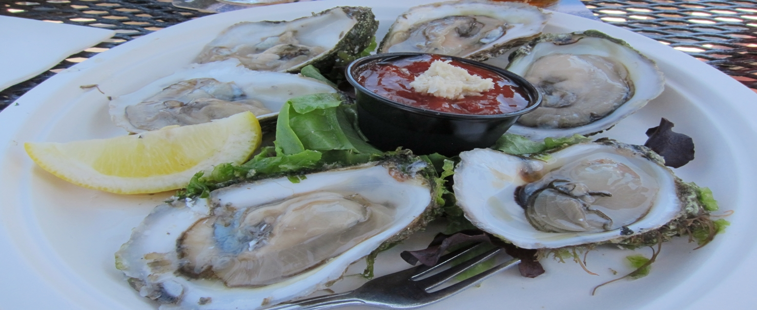 Oyster at the Pearl Wellfleet
