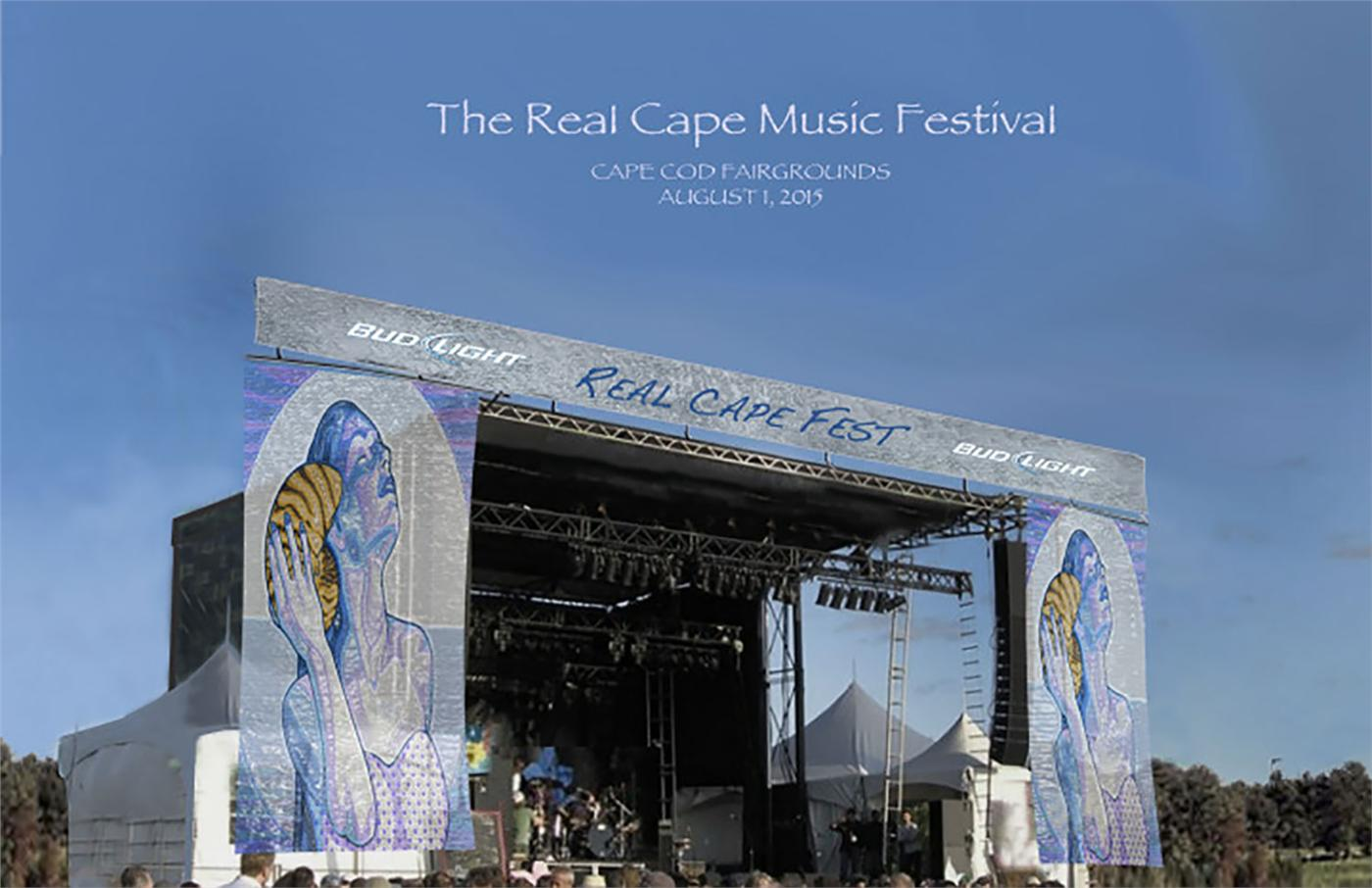 Local music and salty air should make for a perfect event this weekend as The Real Cape Music Festival gets underway on the Cape Cod fairgrounds.