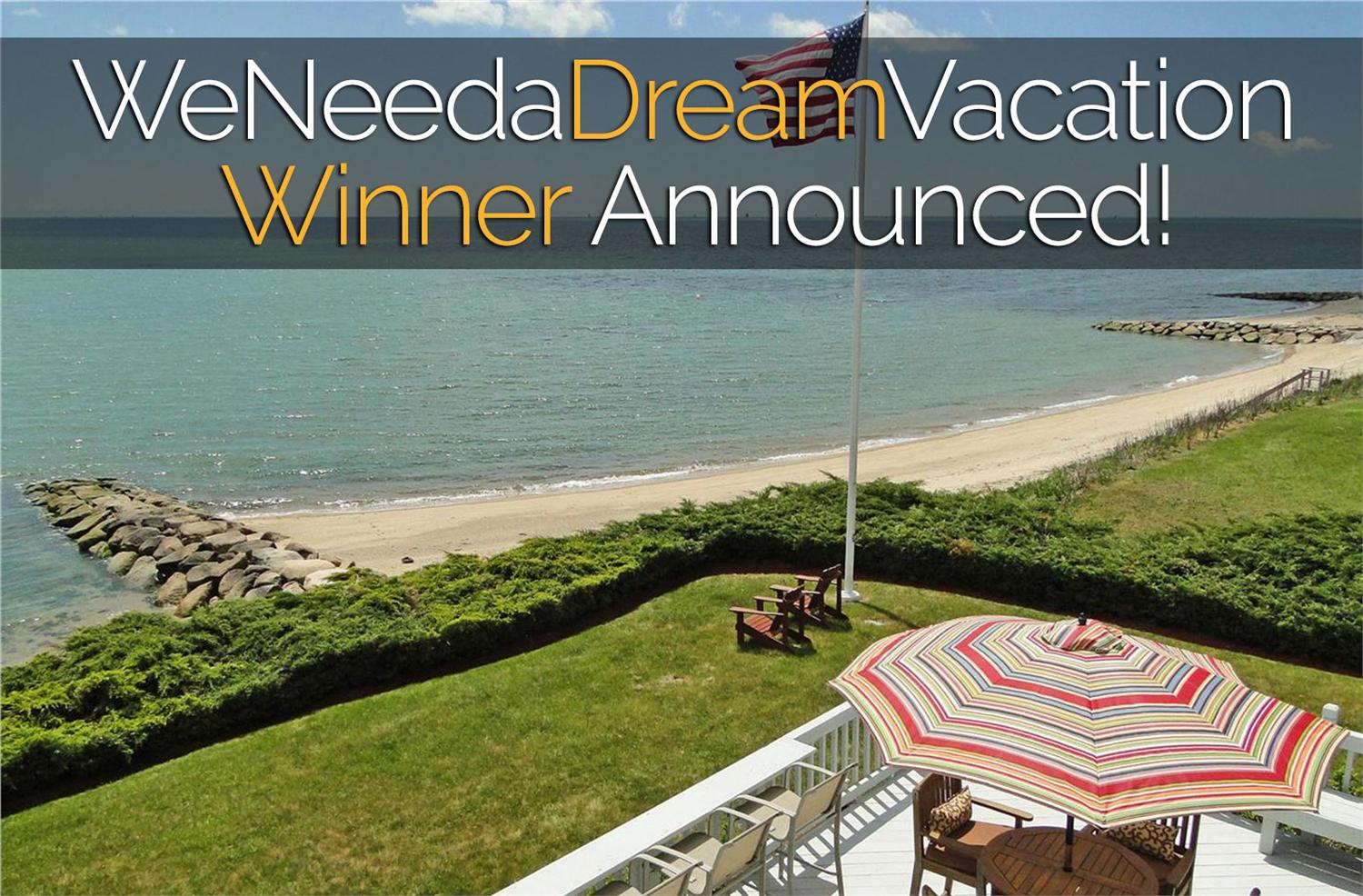 We finally crowned a winner for the WeNeedaDreamVacation Giveaway. Find out who won and the odds they beat to win.